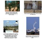 4 bilder på avfyrningsplatser