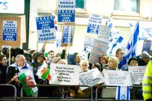 Pro-israelerna